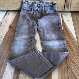 GapKids1969 boys distressed brown jeans.